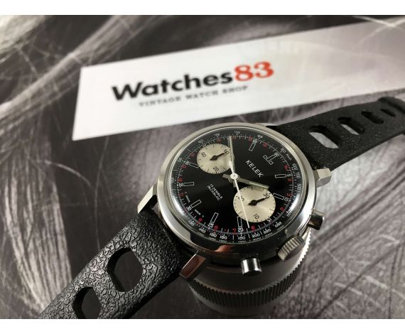 KELEK Reloj vintage suizo de cuerda cronógrafo Cal. Landeron 248 *** ESPECTACULAR ***