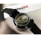 Thermidor vintage manual winding watch Black dial Cal. ETA 2390 *** POLEROUTER STYLE ***