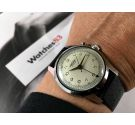 N.O.S. VULCAIN CRICKET Wrist Alarm swiss vintage hand winding watch Cal 120 *** NEW OLD STOCK ***