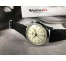 N.O.S. VULCAIN CRICKET Wrist Alarm Reloj Alarma suizo antiguo de cuerda Cal 120 *** NEW OLD STOCK ***