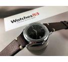 TITAN Vintage swiss automatic watch Black dial Cal. ETA 2452 *** POLEROUTER STYLE ***