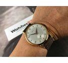 EMYL Reloj suizo antiguo de cuerda OVERSIZE 39 mm Landeron 540 Plaqué OR *** NUEVO DE ANTIGUO STOCK ***