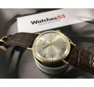 IWC International Watch Co Schaffhausen Reloj antiguo suizo de cuerda Cal. IWC 402 ORO 18K *** COLECCIONISTAS ***