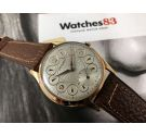 Vintage swiss CRYSREY hand winding watch Cal. AS1067 AWESOME DIAMETER 42.5 mm. New old stock *** WONDERFUL ***