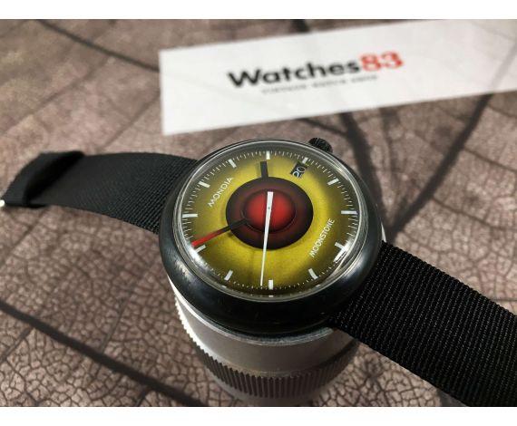 Mondia (Zenith) MOONSTONE Reloj suizo antiguo de cuerda Dial Misterioso Cal AS 1950/51 *** COLECCIONISTAS ***