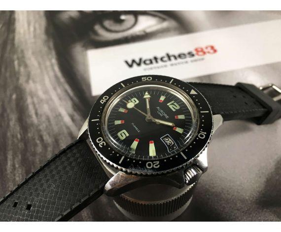 AURORE LUXE Reloj Vintage de cuerda DIVER 20 ATM Cal. FE140 *** LOLLIPOP ***