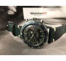 CROTON NIVADA GRENCHEN Aviator Sea Diver Vintage hand winding chronograph watch Cal. Valjoux 92 *** SPECTACULAR ***