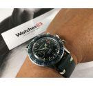 CROTON NIVADA GRENCHEN Aviator Sea Diver Reloj cronógrafo vintage de cuerda Cal. Valjoux 92 *** ESPECTACULAR ***