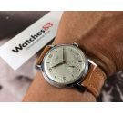 N.O.S. JUANELO Vintage swiss hand winding watch Cal. Unitas 176 Oversize *** NEW OLD STOCK ***