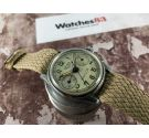 ED. HEUER & CO Vintage swiss chronograph hand winding watch HEUER BAYLOR Cal. Z0A Valjoux 23 *** COLLECTORS ***