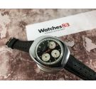 WALTHAM Swiss vintage manual winding chronograph watch Cal. Valjoux 7736 *** DIAL PANDA ***