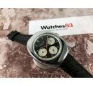 WALTHAM Swiss vintage manual winding chronograph watch Cal. Valjoux 7736 *** DIAL PANDA ***