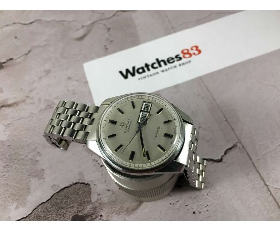 CERTINA Certiday automatic Reloj suizo antiguo automático Cal 25-652 *** 27 JEWELS ***
