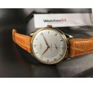 NOS STUDIO (Vulcain) Reloj suizo vintage de cuerda Plaqué OR Cal. Vulcain 590 GRAN DIÁMETRO *** NEW OLD STOCK ***