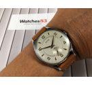 N.O.S. ALTUS Reloj antiguo suizo de cuerda Cal. Unitas 176 Gran diámetro DIAL TEXTURIZADO *** NUEVO DE ANTIGUO STOCK ***