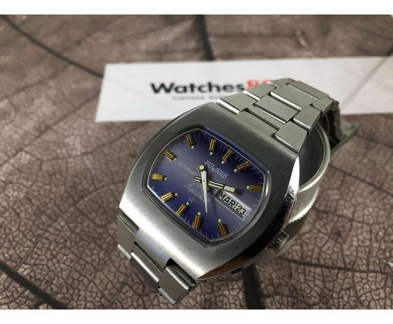 Duward AQUASTAR automatic Vintage swiss automatic watch Cal. AS 2066 *** COLLECTORS ***