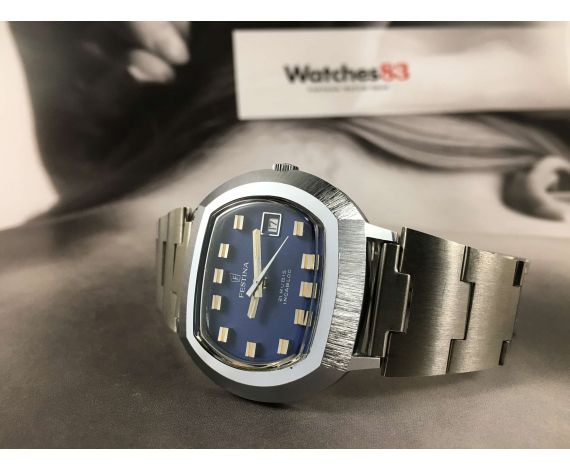 N.O.S. FESTINA automatic 21 jewels Reloj suizo antiguo automático Cal. ETA 2782 *** NUEVO DE ANTIGUO STOCK ***