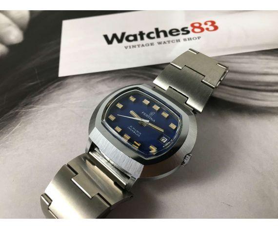 N.O.S. FESTINA automatic 21 jewels Vintage swiss automatic watch Cal. ETA 2782 *** NEW OLD STOCK ***
