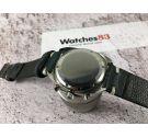 VETTA Reloj suizo cronógrafo antiguo de cuerda Cal. Valjoux 23 *** DIAL PANDA REVERSO ***