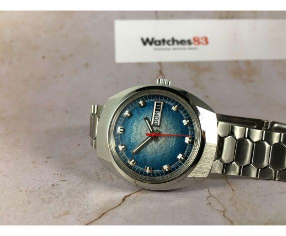NOS DUWARD AQUASTAR Reloj suizo Vintage automático Cal. AS 2066 *** NUEVO DE ANTIGUO STOCK ***