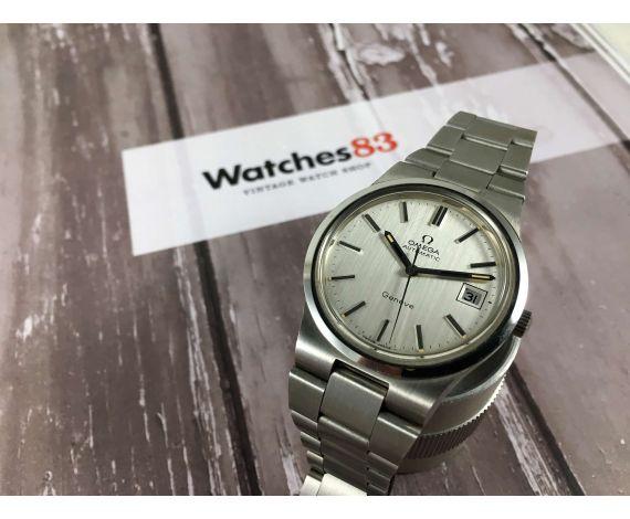 NOS Omega Genève Reloj suizo antiguo automático Cal 1012 Ref 166.0173-366.0832 *** NUEVO DE ANTIGUO STOCK ***