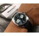 AURORE Watch Reloj cronógrafo suizo vintage de cuerda Cal. Valjoux 7734 *** DIAL RALLY ***