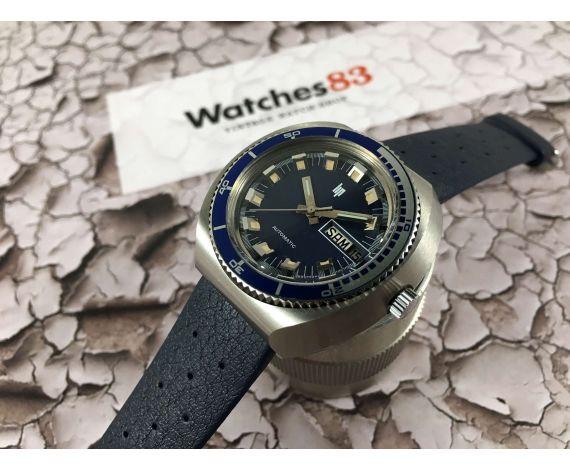 NOS LIP Reloj Diver antiguo automático Cal. INT 7526 Nuevo de antiguo stock *** OVERSIZE ***