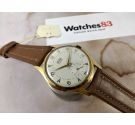 NOS FORTIS FURORA Vintage swiss manual winding watch OVERSIZE PLAQUÉ OR Cal. AS 1130 *** NEW OLD STOCK ***