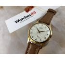 NOS FORTIS FURORA Reloj suizo antiguo de cuerda OVERSIZE PLAQUÉ OR Cal. AS 1130 *** NUEVO ANTIGUO STOCK ***
