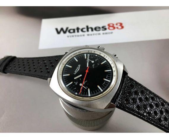 LINCOLN Reloj Cronógrafo suizo antiguo de cuerda Cal Valjoux 7733 + Estuche *** CASI NOS ***