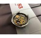 Zodiac Calibre Heuer 12 (Zodiac 90) Reloj suizo cronógrafo automático vintage Ref 902.887 *** ESPECTACULAR ***