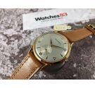 CRYSREY Vintage swiss hand winding watch Plaqué OR Cal. ETA 1120 OVERSIZE *** NEW OLD STOCK ***