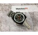 NOS CAUNY PRIMA CAUNYMATIC Reloj cronógrafo antiguo suizo automático Cal. Valjoux 7750 *** NUEVO DE ANTIGUO STOCK ***