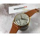NOS EMYL Reloj suizo vintage de cuerda Plaqué OR Cal AS 1486 *** NUEVO DE ANTIGUO STOCK ***