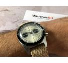 INSAWATCH Vintage Chronograph Swiss manual winding watch Cal. Landeron 248 *** DIAL PANDA ***