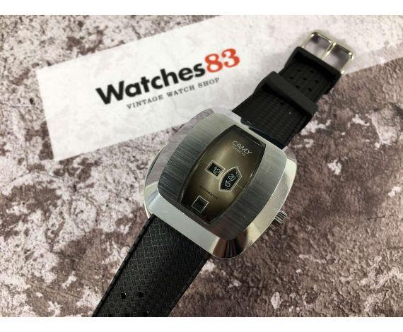 CAMY Reloj vintage suizo automático Cal. TD 1393 (Tenor Dorly) *** SALTO DE HORA ***