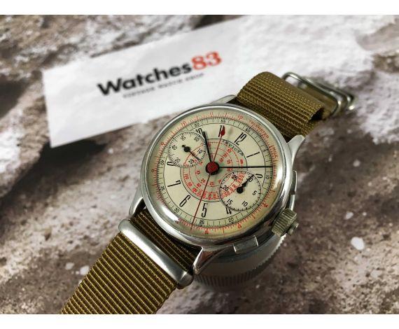 INVICTA (Seeland Watch Co) Reloj Vintage cronógrafo de cuerda Cal. MXH *** COLECCIONISTAS ***