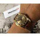 MILUS Reloj antiguo suizo de cuerda 21 jewels Cal. Venus 227 Estilo POLEROUTER *** MINT ***