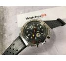 ROYCE chronographe Vintage chronograph hand wind espectacular watch Cal. Valjoux 7733 *** LOLLIPOP ***