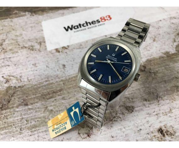 NOS BULOVA ACCUTRON Reloj vintage suizo diapason Cal. Bulova 2181 *** NEW OLD STOCK ***