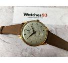NOS CORTÉBERT Reloj antiguo suizo de cuerda Cal. 677 Plaqué OR Espectacular Dial Texturizado *** NUEVO DE ANTIGUO STOCK ***
