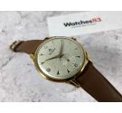 NOS CORTÉBERT Vintage hand winding swiss watch Cal. 677 Plaque OR Awesome Engraved Dial *** NEW OLD STOCK ***