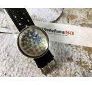 UNIVERSAL GENEVE POLEROUTER DATE Reloj suizo antiguo automático Cal. 69 Microtor *** DIAL NEGRO ***
