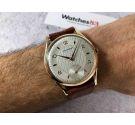 NOS CRYSREY Reloj suizo antiguo de cuerda Cal. AS1067 DIÁMETRO GIGANTE, DIAL TEXTURIZADO *** NUEVO DE ANTIGUO STOCK ***