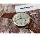 NOS CRYSREY Vintage swiss manual winding watch Cal. AS1067 IMPRESSIVE DIAMETER, ENGRAVED DIAL *** NEW OLD STOCK ***