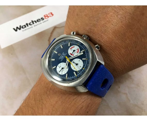 CERTINA DS-2 CHRONOLYMPIC Vintage chronograph hand winding swiss watch Valjoux 726 SPECTACULAR *** COLLECTORS ***