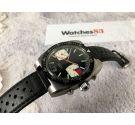 Sin marca (OEBRA) MINT Vintage chronograph hand winding watch Cal. Valjoux 7734 Bidirectional bezel *** SPECTACULAR DIAL ***