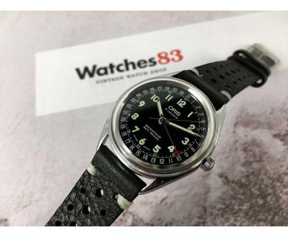 ORIS POINTER manecilla/día Reloj suizo de cuerda Cal. 302 (ETA 2691) ESPECTACULAR *** MINT ***
