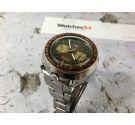 SEIKO SPEEDTIMER Reloj cronógrafo antiguo automático Cal 6138 JAPAN J 6138-0040. + Caja. Oversize Espectacular! *** BULLHEAD ***