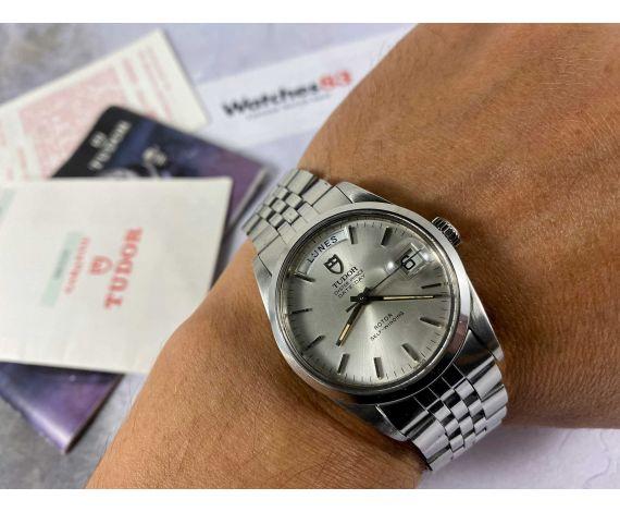 TUDOR DAY DATE Ref. 94500 Reloj suizo vintage automatico Cal. ETA 2834-1 OYSTER PRINCE *** COLECCIONISTAS ***